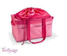 Bring our Deluxe Utility Tote & Deluxe Cinch-Top Lid to the baby's room for an easy toy storage solution!