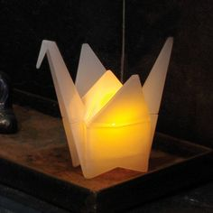 Origami Crane Light by GAMAGO