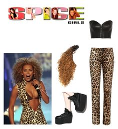 scary spice mel b outfit spice girls pinterest spices outfit and mel b. Black Bedroom Furniture Sets. Home Design Ideas