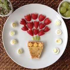 Creative Mom Turns Her Kids Food Into Works Of Art #coupon code nicesup123 gets 25% off at  www.Provestra.com and www.Skinception.com