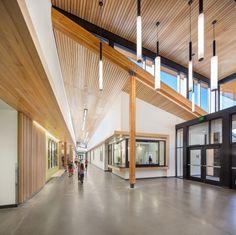 Cascades Academy of Central Oregon |  Hennebery Eddy Architects, Inc. Photo © Robert Creamer Photography and Paul Burk Photography | Bustler