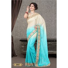 Handwork Designer Saree ( D.No.2061 )