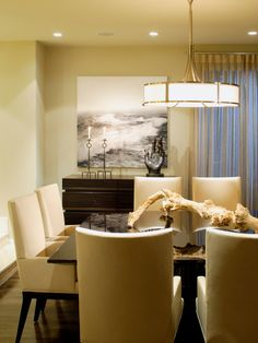Westwood Residence, Dining Room...love this! :)