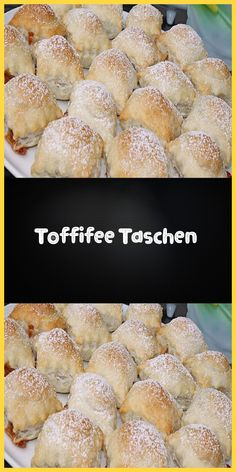 Toffifee bags - Ingredients 2 packs of puff pastry from the cooling shelf (roll) 30 pieces .,Toffifee bags - Ingredients 2 packs of puff pastry from the cooling shelf (roll) 30 pieces of confectionery (Toffifee or Raffaell - eat healthy fo. Mexican Breakfast Recipes, Delicious Breakfast Recipes, Mexican Food Recipes, Easy Cake Recipes, Dessert Recipes, Desserts, Tartiflette Recipe, Roasted Almonds, Food Cakes