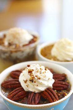 Pecan Pie - Microwave mug pies
