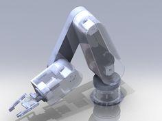 Robot Arm – 4 Bar Linkage End Effector, Robot Gripper – 11037 Mechanical Arm, Mechanical Design, Robot Gripper, Arduino Bluetooth, Robot Cute, Steampunk Robots, Sharpie Tattoos, Macrame Plant Hanger Patterns, Robotic Automation