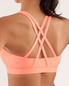 lululemon energy bra- have in every color - great support and super Cute