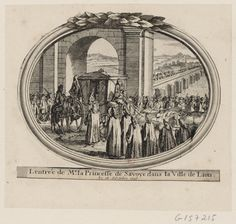 Entry of Marie Adelaide of Savoy into Lyons