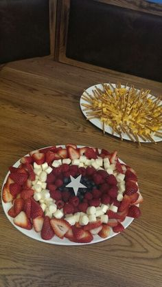 Thor Hamer and Captin America's shield for party food.
