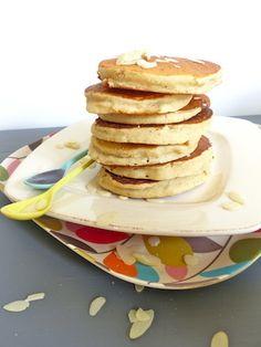 Quoi de mieux le dimanche que de se faire plaisir au petit déjeuner avec des pancakes sans gluten? Absolument irrésistibles avec du sirop d'érable...