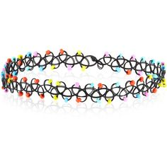 Accessorize Neon Beaded Woven Choker Necklace (19 BRL) ❤ liked on Polyvore featuring jewelry, necklaces, choker, accessories, woven necklace, beaded choker necklace, bead jewellery, braided bead necklace and braid jewelry