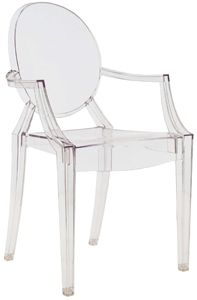 Kartell Louis Ghost Chair...  <3 <3 <3 <3   my second favorite piece of furniture ever