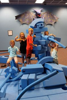 Imagination Playground is a favorite of kids of all ages. #childrens #museum #Appleton
