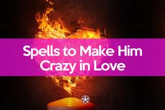 ✔ Use these spells of white magic to make a man crazy for you. Make him think of you non stop and feel love for you immediately with the power of ritual magic. Crazy In Love, Love Spell That Work, Crazy Man, Ex Love, Strong Love, Love Is Free, White Magic Love Spells, Free Love Spells, Easy Spells