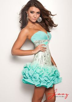 This is adorable, but sexy!  Jasz fall 2012 4720 $398 #graduation #batmitzvah #homecoming #dresses #fashion