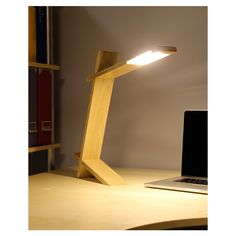 LED Plank Table Lamp in Natural by LumiSource - AllModern.com