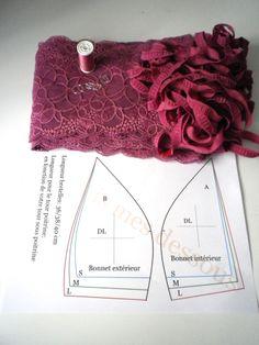 Sweet + Tease Lace Lingerie Set in White Underwear Pattern, Lingerie Patterns, Sewing Lingerie, Bra Pattern, Clothing Patterns, Sewing Patterns, Lace Lingerie, Diy Clothing, Sewing Clothes