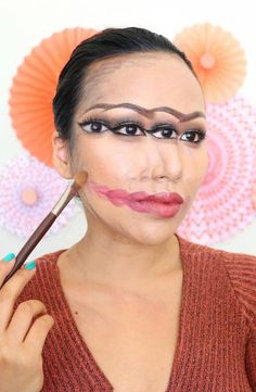 Last-Minute Halloween Costumes You Can Do Using Only Makeup