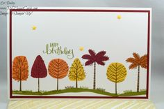 Totally Trees - All About Everything - CAS - My Elegant Cards - Liz Bailey - Independent Stampin' Up! Demonstrator
