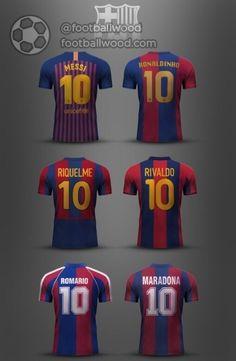 Best of Barcelona Club Football, Best Football Players, Retro Football, Football And Basketball, Soccer Players, Football Kits, Messi 10, Messi Soccer, Messi And Ronaldo