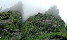 St Kilda rocky landscape and slideshow