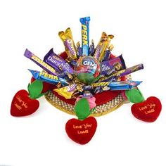 #Gift this Chocolate hamper to your special someone a treat for mouthwatering taste.   Shop ‪#‎OnlinegiftstoIndia‬ @ http://www.giftsngreets.com