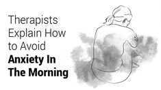 Therapists Explain How to Avoid Morning Anxiety | 5 Minute Read Feeling Stressed, Stressed Out, Feeling Overwhelmed, How Are You Feeling, Positive Stories, Power Of Positivity, Bad Mood, Walking In Nature, Negative Thoughts