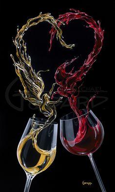 MG Limited Edition Wine & Spirits — Michael Godard Art Gallery & Store Godard Art, Wine Painting, Glass Photography, Wine Art, Wine Time, Wine And Spirits, Wines, Red Wine, Wine Glass