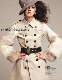 风雅秋旅-Elle台湾时装秀封面设计-奢侈的中性风格(5)