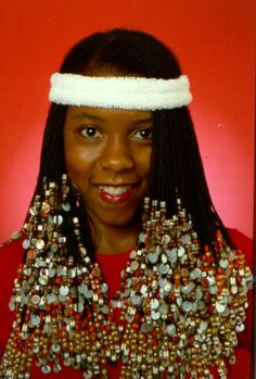 Patrice Rushen wears Beaded Rasta