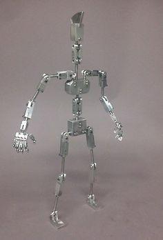 Sculpture Metal Stop Motion Armature Talos Inspired Armature | eBay
