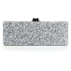 Edie Parker Flavia Solid Clutch ($1,145) ❤ liked on Polyvore featuring bags, handbags, clutches, apparel & accessories, kisslock handbags, acrylic clutches, vintage lucite handbags, kiss lock purse and lucite purse