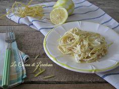 Una ricetta semplice e veloce per preparare un primo piatto squisito: Tagliatelle al limone, cremose e profumate da conquistarvi al primo boccone