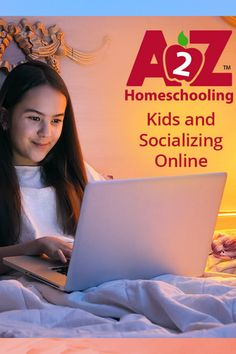 Socializing online and explaining social networking and the virtual world to kids is important to help them navigate the online world safely. Learn more here. Homeschool Apps, Homeschool High School, Online Homeschooling, Strangers Online, Internet Safety, Online Apps, Computer Network, Online Programs, Talk To Me