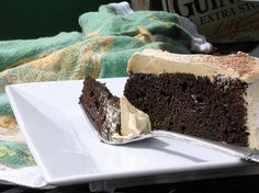 Chocolate Stout Cake with Burnt Caramel Buttercream: I Really Should Have Told You About This Forever Ago - Jenni Field's Pastry Chef Online...