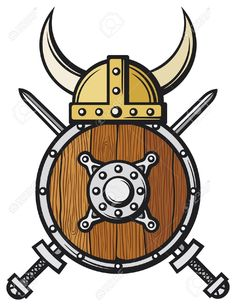 21893006-casco-de-vikingo-escudo-y-espadas-cruzadas-escudo-redondo-de-madera-escudo-de-vikingos-Foto-de-archivo.jpg (1001×1300)