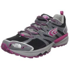 The North Face Women`s Single-Track Performance Running Shoe,Graphite Grey/Fuschia Pink,8.5 M US $77.38