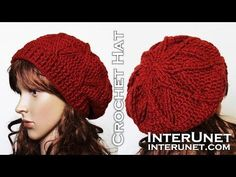 How to Crochet a Beret Beanie Hat Pattern #13 │ by ThePatterfamily - YouTube