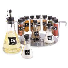 Chemist's Spice Rack | ThinkGeek