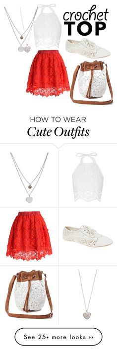"""Little Crochet outfit"" by delaney9steves on Polyvore"