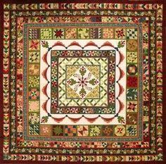 Sue Garman - Sue's quilt designs are so amazing. I love this one - colors, design, all. http://suegarman.blogspot.com/