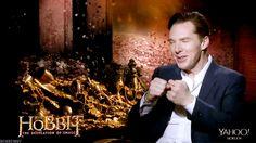 (Click through for adorkable 3 .gif set) Benedict Cumberbatch, ladies and gentlemen.