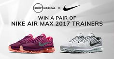 Shopological is giving away a pair of Nike Air Max 2017 sneakers - I've entered and you should try your luck too!