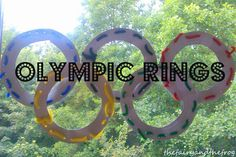 The fairy and the frog: Olympic ring threading