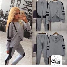 Bundle...Grey Track Suit & Black Top Bundled... Grey & Black Track Suit, Size XL... & Black Gothic Top/Size 10. See original listing for full description Cosb Other