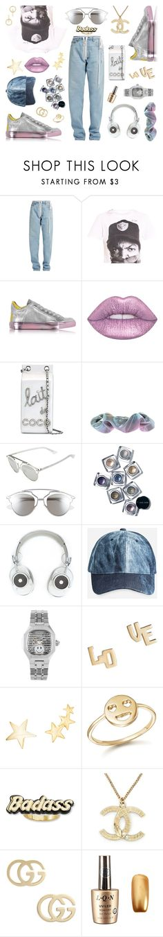 """shine like i'm supposed to"" by ell-richards ❤ liked on Polyvore featuring Off-White, MM6 Maison Margiela, Lime Crime, Chanel, Forever 21, Christian Dior, Bobbi Brown Cosmetics, Master & Dynamic, Ashley Stewart and Jennifer Zeuner"
