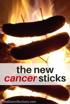 Hot Dog Cancer Sticks
