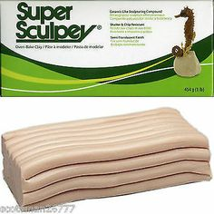 SUPER SCULPEY POLYMER CLAY 1lb 454g BOXED PACK FRESH STOCK