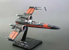 Bandai x Star Wars 1/72 Poe Dameron X-Wing Fighter