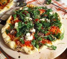 Pâte à pizza maison facile Pizza Hut, Baby Shower Brunch, Vegetable Pizza, Pasta, Vegetables, Cooking, Desserts, Food, Pizza